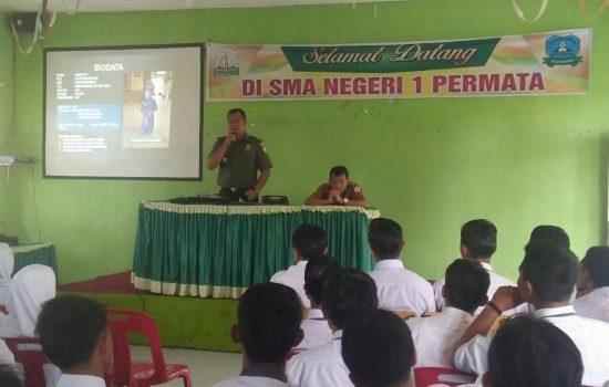 TNI Sosialisasikan Bahaya Narkoba di SMA