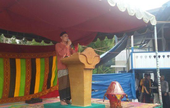 Pelda Adri Rahdian Punya Andil Besar Berdirinya Ponpes Raudhatul Bahruddin