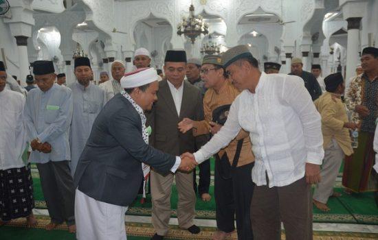 Pangdam IM Hadiri Isra Miraj Nabi Muhammad SAW 1438 H