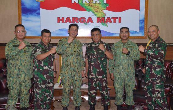 Panglima Bersenjata Diraja Brunai Darusalam (ABDB) Silahturahmmi dengan Pangdam IM