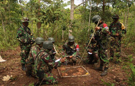 Yonif Raider 112/DHarma Jaya Latihan Uji Siap tempur Tingkat Kompi