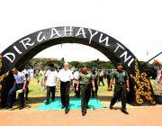 HUT ke-73, TNI Gelar Pameran Alutsista