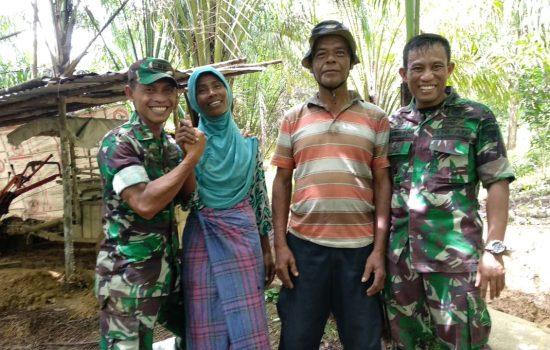 Istri M. Amin Tidak Siap Mendengar Anaknya Akan Kembali Usai Melaksanakan TMMD ke 103 Kodim 0105/Abar