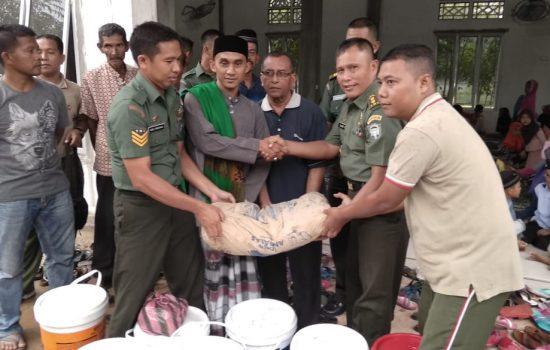 Kunjungi Pesantren Dayah Masyraf, Kasetumdam IM Berikan Bantuan