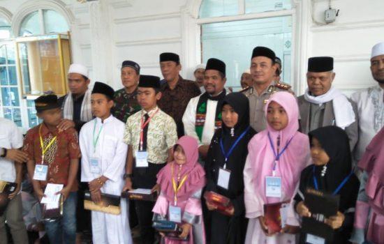 Kebersamaan TNI-POLRI-Forkopimda dan Masyarakat Dalam Maulid Nabi Muhammad SAW