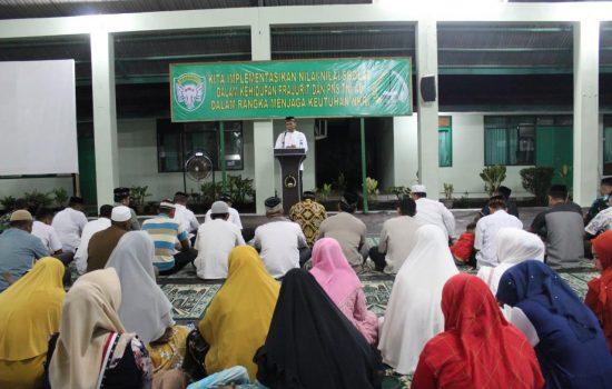 Kodim Aceh Selatan Peringati Isra Mi'raj 1440 H Tahun 2019