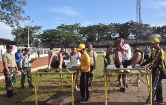 Ratusan Prajurit Kodim 0106/Ateng Tingkatkan Kemampuan Fisik