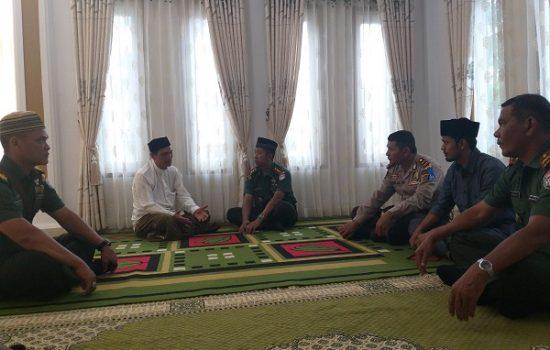 Dandim 0103/Aut Silaturahmi ke Pondok Pesantren Darul Muttaqin