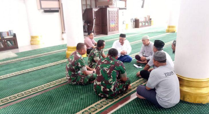 Kabintaldam IM Pimpin Rapat Organisasi DKM