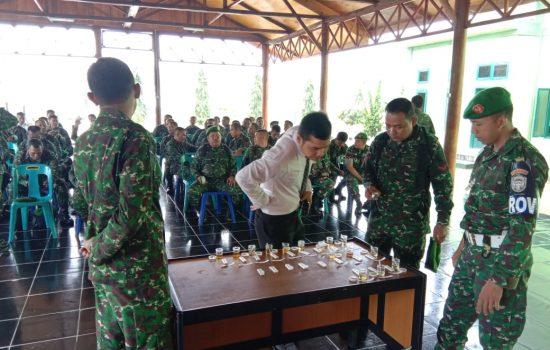 Cegah Penyalahgunaan Narkoba di Lingkungan TNI, Kodim Periksa Urine Puluhan Prajurit