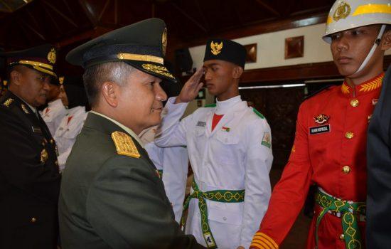 Kasdam IM Hadiri Pengukuhan Paskibraka 2019 Provinsi Aceh