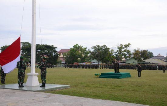 Upacara Peringatan Ulang Tahun Ke 74 Republik Indonesia di Lapangan Jasdam IM