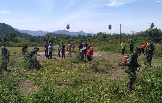 TNI – Polri Bersama Santri Gotong Royong