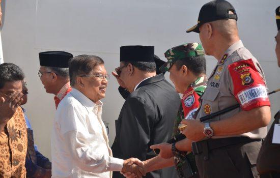 Pangdam IM Sambut Kunjungan Wakil Presiden RI
