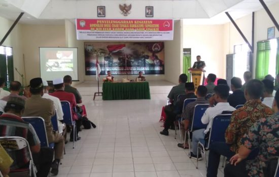 Kodim 0109/Aceh Singkil Komsos dengan Komponen Masyarakat