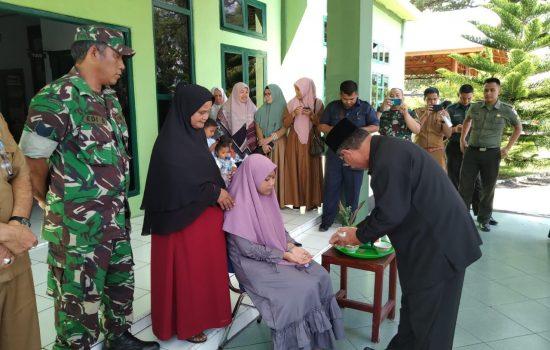 Kodim Aceh Jaya Berangkatkan Cut Fitriani, Finalis Lomba Karya Tulis Nasional