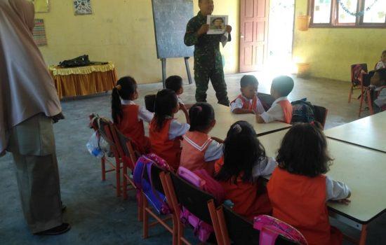 Kopda Mardi Ismanto Berikan Wasbang Kepada Siswa-siswi Taman Kanak-kanak