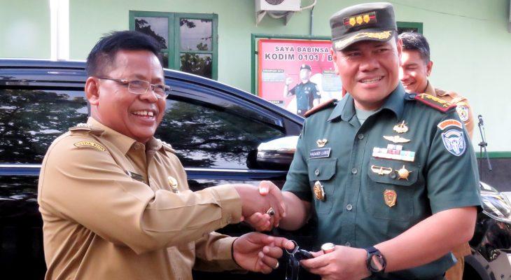 Walikota Banda Aceh Datangi Makodim 0101/BS