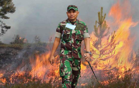 Jelang Musim Kemarau, Dandim 0110/Abdya Imbau Masyarakat Cegah Kebakaran Hutan