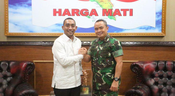 Pangdam IM Terima Audensi Ketua DPRA Aceh