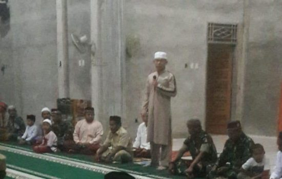 Danbrigif 25/Siwah hadiri peringatan Maulid Nabi Muhammad SAW