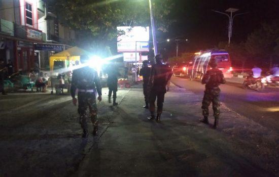 Patroli Gabungan Tertibkan Tempat Keramaian di Wilayah Pidie