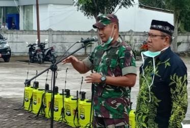 Dandim Aceh Singkil Instruksikan Jajarannya untuk Mensosialisasikan Bahaya Virus Corona