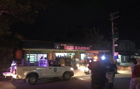 Cegah Corona, Jam Malam Diberlakukan, Tim Gabungan Patroli di Aceh Tengah