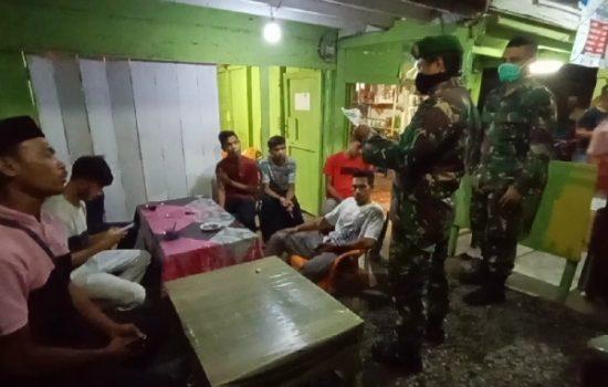 Tim Gabungan Gelar Patroli Cegah Corona di Nagan Raya