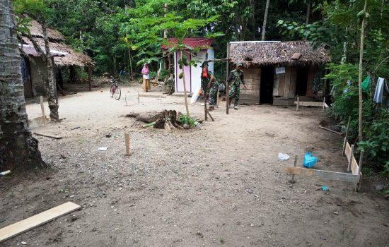 Peduli Sesama, Relawan Aceh Barat Gandeng Kodim 0105/Abar Bangun Rumah Dhuafa