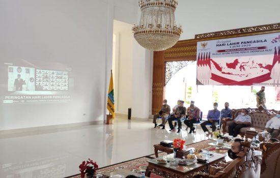 Dandim Bersama Forkopimda Aceh Jaya Peringati Hari Lahir Pancasila