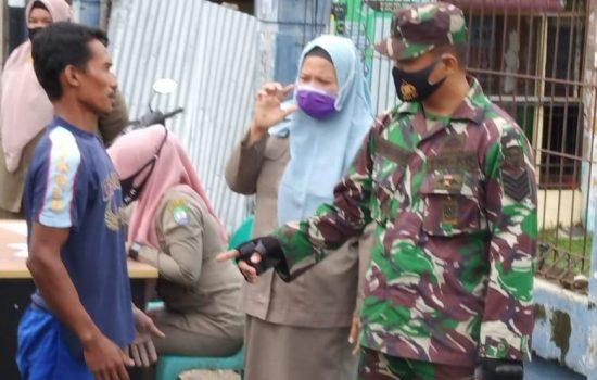 Terus Upayakan Pendisiplinan Protokol Kesehatan, Satgas Covid Kodim 0110/Abdya Gelar Patroli Dan Sosialisasi