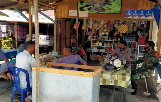 SINERGITAS TNI-POLRI DALAM MELAKSANAKAN KOMOS DENGAN MASYARAKAT