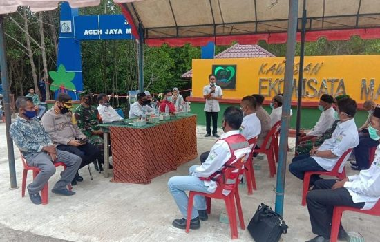 Dandim Aceh Jaya Haidiri Persemian Wisata Mangrove Aceh Jaya