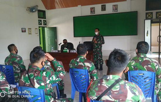Mantapkan Pembinaan Satuan Jajaran Kodam IM, Tim Aswas Binsat Sambangi Kodim 0110/Abdya